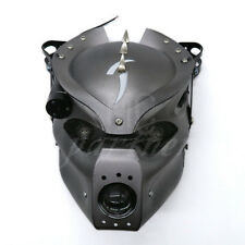 LED Skull Headlight Lamp With Mount Bracket For Harley Honda Yamaha Suzuki