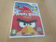 ANGRY BIRDS TRILOGY FOR NINTENDO WII pal