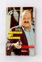Murder by Gemini by Richard Gallagher vintage paperback Cannon BBC TV Thriller
