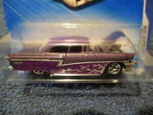 HOT WHEELS 2010 HOT AUCTION, '56 MERC. #5/10 (purple)