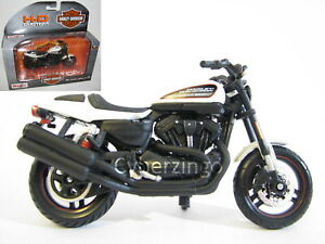 Harley Davidson 2011 XR 1200X White 1:18 Scale Maisto Motorcycle Model