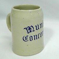 Boch, F La Louviere stoneware stoneware stein made in Belgium 'Munich Concordia'