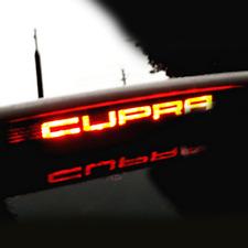 Luz de freno barra de pegatinas carbon decoración sticker seat Leon Cupra
