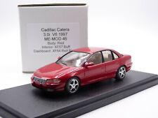 Me-Mod 46 1/43 1997 Cadillac Catera 3.0 V6 Resin Handmade Model Car Red XF57