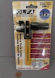 OLFA CMP-3 Rotary Circle Cutter for fabric