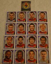 FIGURINE CALCIATORI PANINI CHAMPIONS 2007/08 SQUADRA CSKA CALCIO ALBUM