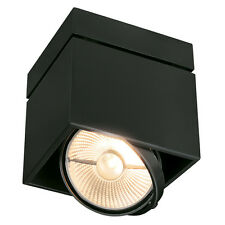Intalite KARDAMOD SURFACE SQUARE ES111 SINGLE ceiling light square GU10 75W B