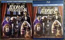 THE ADDAMS FAMILY 2019 BLU RAY DVD 2 DISC + SLIPCOVER SLEEVE FREE WORLD SHIPPING