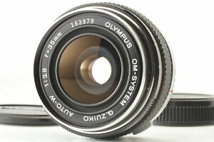 【Optical MINT】 OLYMPUS OM-System G.ZUIKO AUTO-W 35mm f2.8 lens from JAPAN #1203