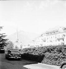 MATERA c. 1950 -Auto Vue sur le Village Église Italie - Négatif 6 x 6 - ITAL 484