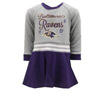 Baltimore Ravens NFL Toddler Cheerleader Outfit Combo Set with Bottoms New Tags