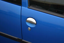 Chrome Door Handle Trim Set Covers To Fit Toyota Aygo 2dr (2005-14)