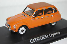CITROEN DYANE 1974 Orange 1:43 NOREV NOUVEAU & OVP 153718