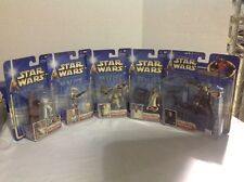 STAR WARS ATTACK OF THE CLONES LOT OF 5 ACTION FIGURES ORIGINAL NEW LOW PRICES