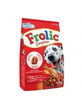 Set 5 x 1,5KG Frolic Complete Cover Beef Carrots Cereal Cute Anelli Semiumido
