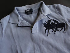 Polo Ralph Lauren Superbe Bleu Clair Polo Big Pony taille 6/116