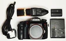 Sony Alpha SLT-A77 Digital Camera (Body Only) *Less than 4800 shots*