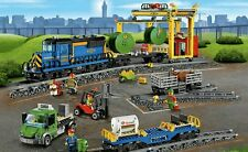 LEGO City Trains Cargo Train 60052 NO BOX 100% Complete in sealed poly bags