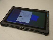 GETAC F110 Rugged Tablet i7-4600u 2.1GHz 4G 128SSD Windows 10 (No PS)