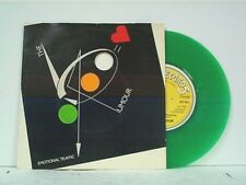 "RUMOUR ""EMOTIONAL TRAFFIC / HARD ENOUGH TO SHOW"" 45w/PS MINT ENGLISH GREEN VINYL"