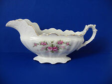 Royal Firenze China VINTAGE Sauce or Gravy Boat Dish Roses Pattern