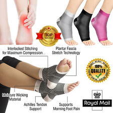 Plantar Fasciitis Socks Compression Support Foot Arch Ankle Brace Pain Relief UK