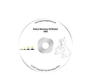 Kelly's Directory Of Bristol 1956