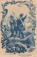 A1985)ROMA,  PIEMONTE REALE CAVALLERIA, 61 ANNIVERSARIO SFORZESCA 21/3/1910.