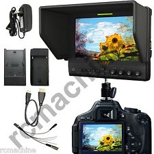 """Lilliput 7"""" 663/O/P IPS Peaking Focus HDMI In Out Monitor TALLY Canon 5D2 5D3 II"""