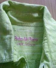 *Camisa Chico Color Pistacho - Talla M - marca PEDRO DEL HIERRO - 100% Lino