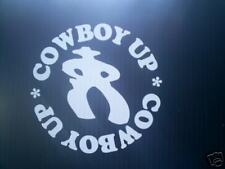 COWBOY UP DECAL