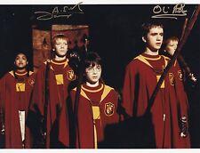 James & Oliver Phelps ++ Autogramm ++ Harry Potter ++ Fred // George