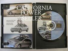 2005-2006 Mercedes-Benz Navigation GPS DVD Disc Map C CLK M R Class A1698273059