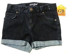 M Size Youth (7/8) Girls Shorts Cat & Jack brand Denim Jean Shorts Stitched-443-