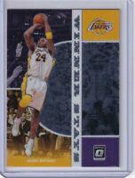2019-20 Panini Donruss Optic WINNER STAYS Insert SP Kobe Bryant (LA Lakers)
