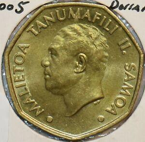 Samoa 2005 Dollar 190646 combine shipping