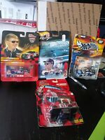 NASCAR Racing Champions / Hot Wheels  1/64 scale Diecast Lot of 4 New in Package