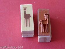 Motivstempel  Reh  Stempel  Stamping ca:12x28 mm  Kartengestaltung Basteln