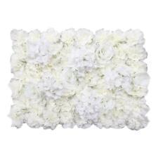Artificiel Simulation Soie Fleurs Rose Blanc Flowers Déco Mariage(60*40cm)