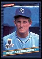 1986 Donruss Bret Saberhagen Kansas City Royals #100