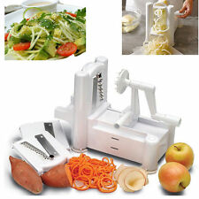 Spiral Vegetable Slicer Spiralizer Veggie Fruit Chopper Mandolin Cutter Shred WP