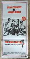 You Only Live Twice Sean Connery James Bond 007 Original Movie Poster