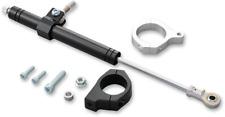 Drag Specialties Black 49mm Steering Damper Kit for 06-17 Harley Dyna FXD FXDF