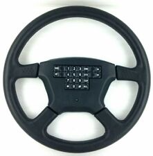 Genuine Momo Olympic leather steering wheel, telephone buttons. NOS, RARE!  7C