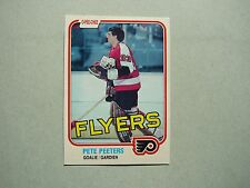 1981/82 O-PEE-CHEE NHL HOCKEY CARD #245 PETE PEETERS NM SHARP!! 81/82 OPC