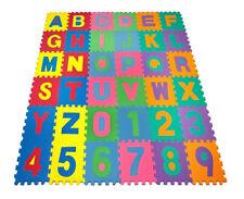 Monzana Puzzlematte 86 Teilig Kinderteppich Schutzmatte