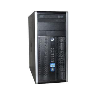 HP Compaq 8200 Elite Minitower i7-2600 CPU 8GB RAM 2X500G HDD WIN 7