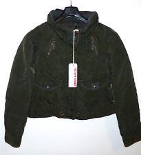 Miss Sixty Jacke Reva Winter Jacket Miltary oliv - khaki, Gr. M (S) 36-38, neu