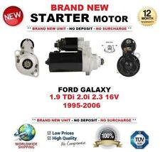 FOR FORD GALAXY 1.9 TDi 2.0i 2.3 16V 1995-2006 NEW STARTER MOTOR 2.0 kW 10 Teeth