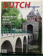 Dutch Magazine Houseboat Museum Kieft's War Delft Sept/Oct 2015 FREE SHIPPING JB